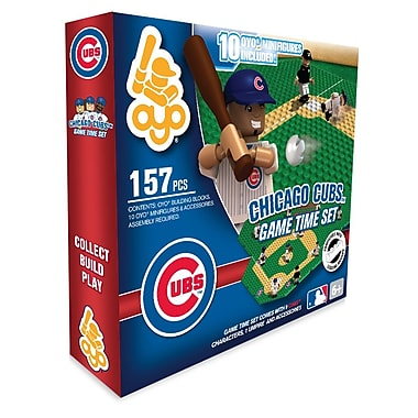 MLB OYO Sportstoys Game Time Set, Chicago Cubs
