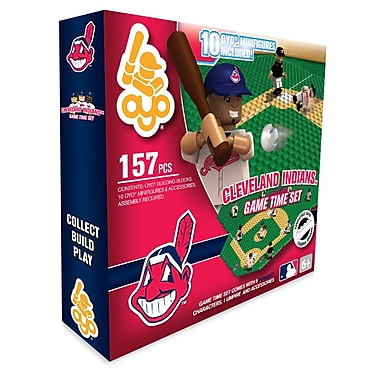 MLB OYO Sportstoys Game Time Set, Cleveland Indians