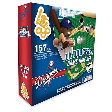 MLB OYO Sportstoys Game Time Set, Los Angeles Dodgers