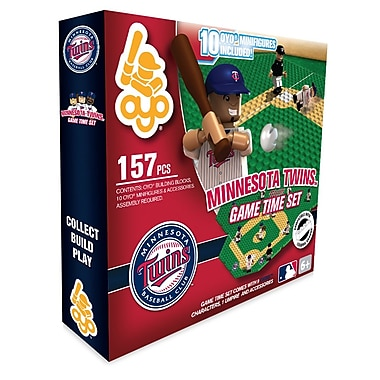 MLB OYO Sportstoys Game Time Set, Minnesota Twins