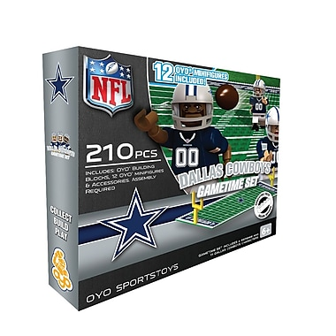 OYO Sportstoys – Ensemble de terrain de football de la NFL, Dallas Cowboys
