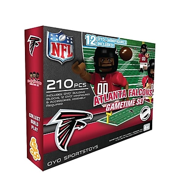 NFL OYO Sportstoys Gametime Set, Atlanta Falcons