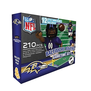 NFL OYO Sportstoys Gametime Set, Baltimore Ravens