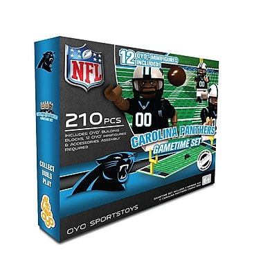 NFL OYO Sportstoys Gametime Set, Carolina Panthers