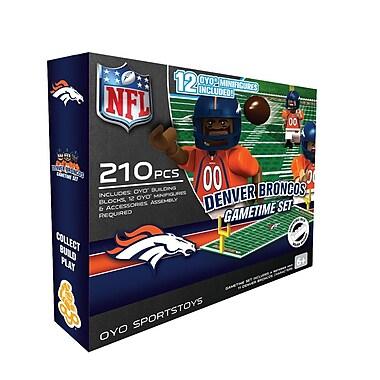 NFL OYO Sportstoys Gametime Set, Denver Broncos
