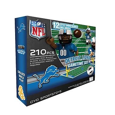 NFL OYO Sportstoys Gametime Set, Detroit Lions