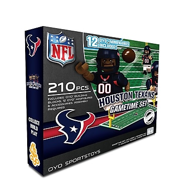OYO Sports – Ensemble de terrain de football de la NFL, Houston Texans