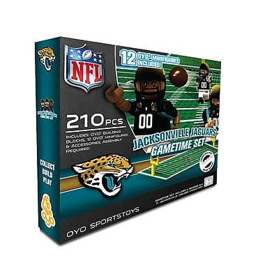 NFL OYO Sportstoys Gametime Set, Jacksonville Jaguars