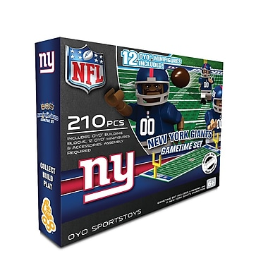 NFL OYO Sportstoys Gametime Set, New York Giants