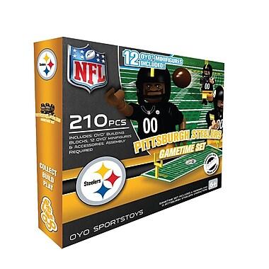 NFL OYO Sportstoys Gametime Set, Pittsburgh Steelers