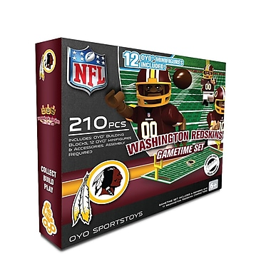 NFL OYO Sportstoys Gametime Set, Washington Redskins