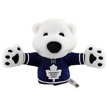 NHL Bleacher Creatures Mascot Hand Puppet, Toronto Maple Leafs, Carlton the Bear
