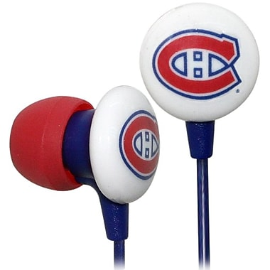 NHL iHip Slap Shot Earphones, Montreal Canadiens