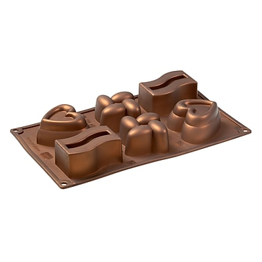 Pavoni Multi Tray Platinum Silicone Bake Mould, Homedition Pavoflex Shapes, 3