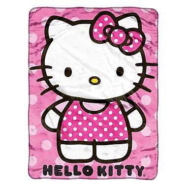 Hello Kitty Plush Throw