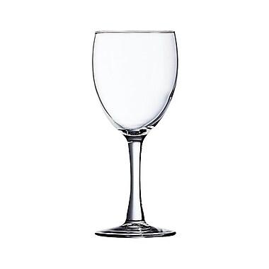Arcoroc 71084 Excalibur 8.5 oz. Tall Wine Glasses, 36/Case