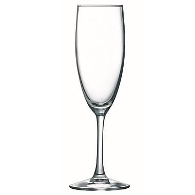 Arcoroc 71086 Excalibur 5.75 oz. Flute Glasses, 36/Case