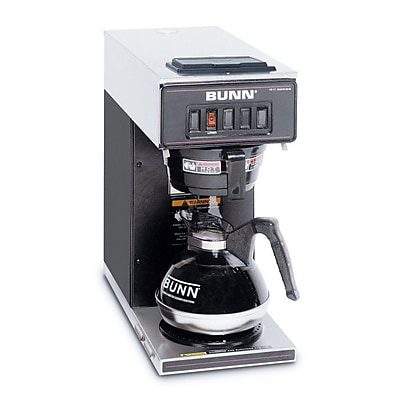 Bunn VP17-1 12 Cup Pourover Coffee Brewer, 1 Warmer Staples