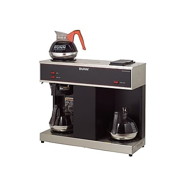 Bunn VPS 12 Cup Pourover Coffee Brewer, 3 Warmers