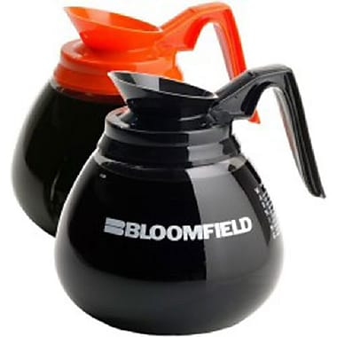 Bloomfield Glass Decaf Coffee Decanter, 64 oz.