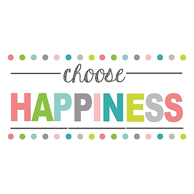 WALL POPS!® Wall Quote, Choose Happiness
