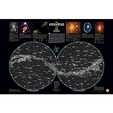 WALL POPS!® Wall Art Kit/Poster, Heavens National Geographic