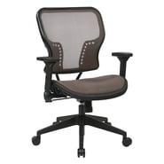 Space Seating Latte Air Grid Seat and Back Chair