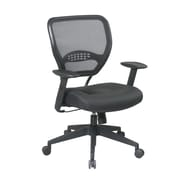 Space Seating Professional Air Grid Back Managers Leather & Plastic Chair