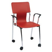 Ave Six Desk Chair, Red