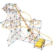 "K'NEX Plastic Hyperspeed Hangtime Roller Coaster Building Set 14"" x 3.25"""