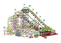 K'NEX Plastic Son of Serpent Coaster Building Set 12.5' x 16.25'