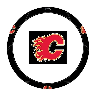 NHL The Northwest Company Steering Wheel Cover, Calgary Flames