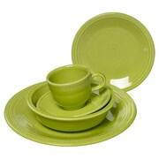 Fiesta 5 Piece Dinnerware Set; Lemongrass