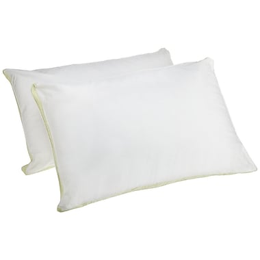 Perfect Fit Industries Medium Density 233 Thread-Count Quilted Sidewall Polyfill Pillow (Set of 2)