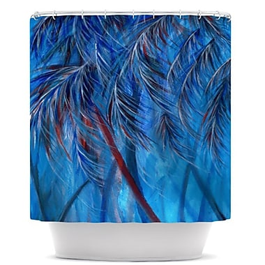 KESS InHouse Tropical Shower Curtain