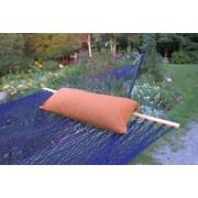 Twin Oaks Hammocks Sunbrella Hammock Bolster Pillow; Nutmeg