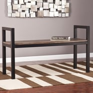 Holly & Martin Abachi Entryway Bench
