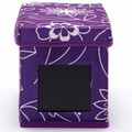 Nexxt FN01405-5INT Write On Floral CD Violet Storage Box