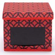 Nexxt FN01411-6INT Write On Lattice DVD Red Storage Box
