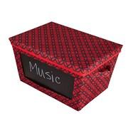 Nexxt FN19671-3INT Write On Lattice CD Red Storage Box