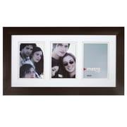 Nexxt PN00262-4FF Black Wood 13 x 22.5 Picture Frame, White Mat