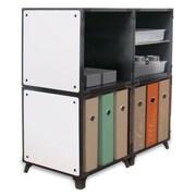 Yubecube YKA4002W Storage Cabinet, White
