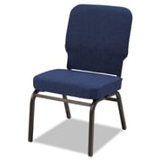 Alera® Oversize Olefin Fabric Stack Chair, Navy