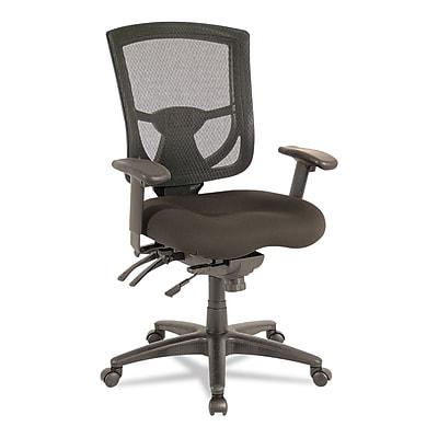 Alera EX Series Mesh Multifunction Mid-Back Chair, Black ALEEX4214