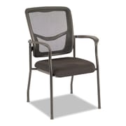 Alera® EX Series Mesh Guest Chair, Black