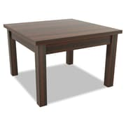 "Alera® Valencia Series 23 5/8"" Rectangle Occasional Table, Mahogany"