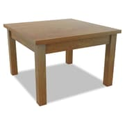 "Alera® Valencia Series 23 5/8"" Square Occasional Table, Medium Cherry"