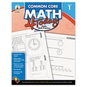 Carson-Dellosa Publishing™ Common Core 4 Today Workbook, Grade 1