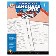 Carson-Dellosa Publishing™ Common Core Language Arts 4 Today Workbook, Grade 1