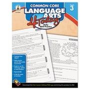 Carson-Dellosa Publishing™ Common Core Language Arts 4 Today Workbook, Grade 3